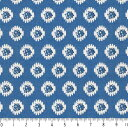 プロバンス 花柄 5431-77 ROYAL BLUE ロイヤルブルー province flower フラワー ボタニカル プロヴァンス風 生地 布 …