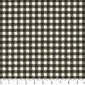 ギンガムチェック3.5mm3.5ミリチェック柄生地綿格子柄布綿100%生成りオックス生地カルトナージュカルトナージュ生地nassen