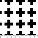 選べる 十字クロス柄 クロ オックス ポイント10倍! cr03-99 BLACK ブラック シロクロモノトーン stripe black 黒 ストライプ 生地 北欧風 生地 白黒モノトーン ファブリ