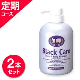 【定期コース】ブラックケアシャンプー600ml 毎回2本お届けのコース