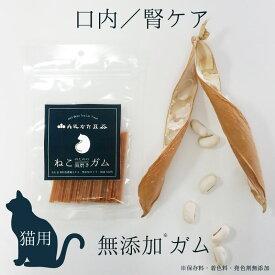 猫 無添加 ガム 丹波なた豆茶ねこのための歯磨きガム/ネコポス便送料無料