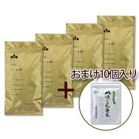 丹波なた豆茶[3gティーバッグ30個入]4袋セット + おまけ[3gティーバッグ10個入](8934)/【送料無料(沖縄除く)】【お得なまとめ買い】