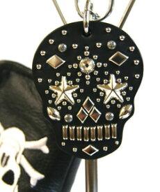 メキシカン スカル パターカバーホルダー スワロフスキー ダイアモンド仕様 011 パターキャッチャー