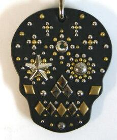 メキシカン スカル パターカバーホルダー スワロフスキー ダイヤモンド仕様 008 パターキャッチャー