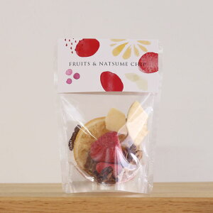 フルーツ&なつめチップ なつめいろ ギフト 砂糖不使用 無添加 なつめチップス ドライフルーツ 乾燥なつめ りんご いちご フルーツティー プチギフト なつめ チップ 自然食品 美肌 葉酸 鉄