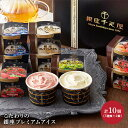 【送料無料】 「 銀座 千疋屋 」 銀座 プレミアム アイス 5種類 計10個 アイスクリーム とちおとめ マスカット ブルー…
