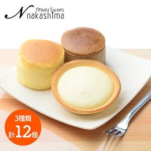 ナカシマ チーズとショコラのスフレとタルト セット 大糸チーズ 6個 半熟ショコラ 3個 淡雪チーズタルト 計12個 NS-002 洋菓子 お菓子 お取り寄せ 特産 手土産 お祝い 詰め合せ おすすめ 贈答品