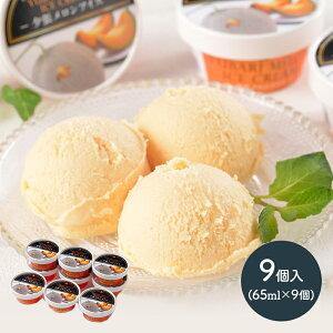 【送料無料】 北海道 夕張メロン アイス 9個 SN1003-070026 スイーツ アイス プレゼント ひんやり ギフト アイスクリーム 詰め合わせ 食品 食べ物 実用的 デザート 洋菓子 メロン 贅沢 お取り寄せ