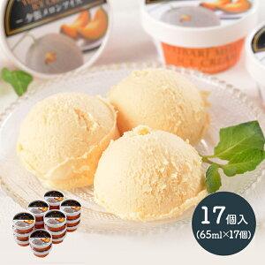 【送料無料】 北海道 夕張メロン アイス 17個 SN1003-070028 プレゼント ひんやり スイーツ アイス 詰め合わせ 食品 食べ物 実用的 お取り寄せ 特産 お祝い デザート 洋菓子 メロン 贈答品 箱入り