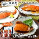 鳥取 「 山陰大松 」 氷温熟成 煮魚・焼き魚セット 10切 SK1223 お取り寄せ 金目鯛 のどぐろ ブリ 紅鮭 鯖 海鮮 手土…