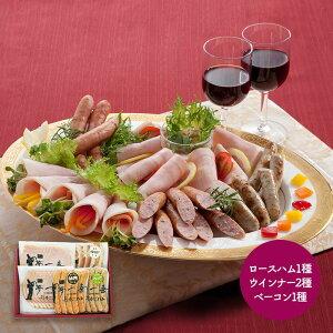 【送料無料】大阪 「夢一喜フーズ工房」 ハム・ウインナー詰合せ 豚肉 お肉 惣菜 ウインナー ロースハム ベーコン オードブル SK1296 お取り寄せ 特産 お祝い セット 詰め合せ おすすめ 贈答