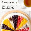 【送料無料】 「 銀座千疋屋 」 銀座フルーツタルト アイス 5種類 10個 ギフト 洋菓子 フルーツ デザート ケーキ 詰合…