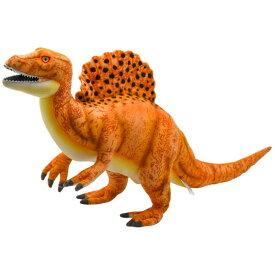 ハンサ【HANSA】リアルぬいぐるみスピノサウルス オレンジ 恐竜