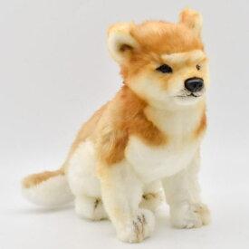 ハンサ【HANSA】リアルぬいぐるみ柴犬23cm いぬ 犬