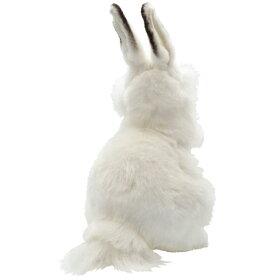 ハンサ【HANSA】リアルぬいぐるみ白ウサギ30うざき