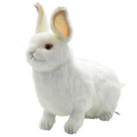 ハンサ【HANSA】リアルぬいぐるみ雪ウサギ40 うさぎ ラビット