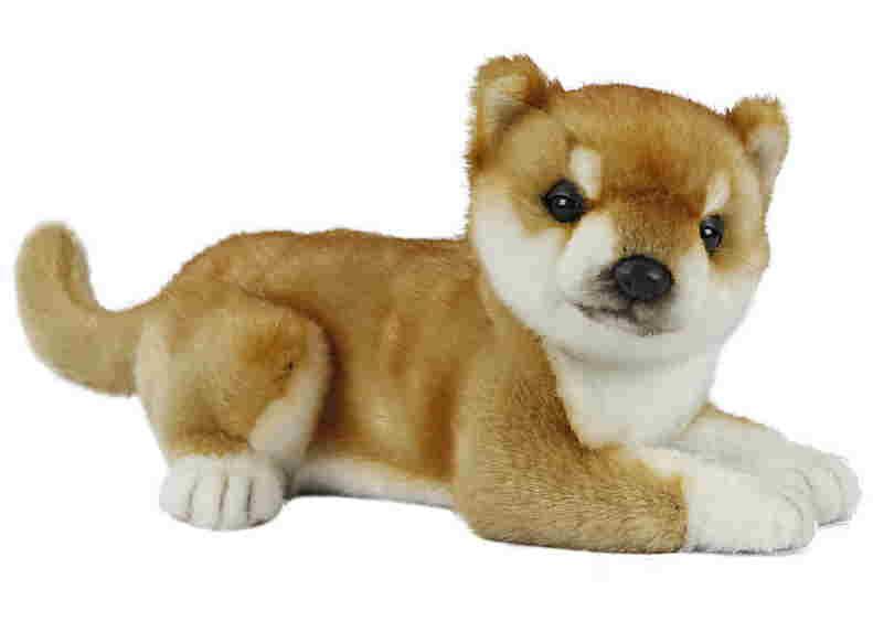 【HANSA】リアルぬいぐるみ柴犬26cm