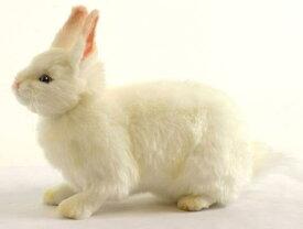 ハンサ【HANSA】リアルぬいぐるみ雪ウサギ 35cm