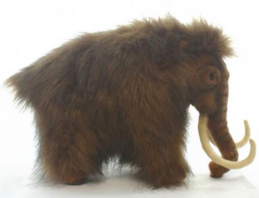 【HANSA】リアルぬいぐるみマンモス 31cm只今在庫切れ、次回入荷は年明け1月末の予定