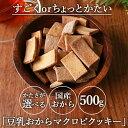 【500g】選べる! すごく硬いとちょっと硬いマクロビ 豆乳おからクッキー プレーン マクロビ クッキー おから おから…