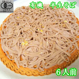 Simple packing side six portions 200 g (100 g *2) three bags New Year's Eve's buckwheat noodle year-end present New Year's greetings for the home