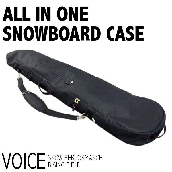 スノーボードケース VOICE [VO402] オールインワン 3WAY スノーボード バッグ ボードケース ウィンタースポーツ