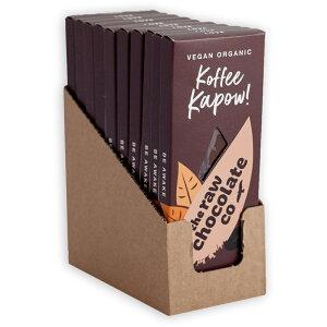 コーヒーカポウ ローチョコレート 38g×10入 バレンタイン 2021 kapow オーガニックチョコレート カカオ66% ヴィーガン フェアトレード スーパーフード 乳製品なし 砂糖不使用 ギルドフリー 低GI