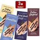 ローチョコレート 選んで3個 (38g×3個) ヴィーガン オーガニックローチョコレート フェアトレード板チョコ 糖質制限 ダイエット チョコ 乳 製品 不 使用 チョコレート ビーガン 低GI 低糖質 アレルギー子供 砂糖不使用 メール便(\250)