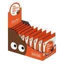 【あす楽】カカオオレンジ プロテインボール ケース(45g×10入) プロテイン グルテンフリー お菓子 輸入 自然食品 プ…