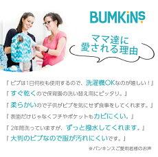 バンキンス(Bumkins)ジュニアビブ1〜3歳Dinos【あす楽対応】【ナチュラルリビング】【ラッキーシール対応】