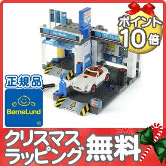 ボーネルンド (BorneLund) Kleine Corporation bosh service station tool set / mechanic / tire exchange / ごっこ play / cognitive education toy