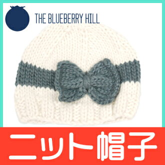 THE BLUEBERRY HILL(브르베리힐) Sabrina Bow 사브리나보우크리무그레이닛트베비 모자