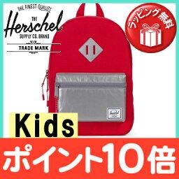 供HERSCHEL(赫謝)HERITAGE kids遺產(小孩)RED RELCT帆布背包背包/學塾/徒步旅行/旅遊使用