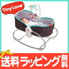 TINYLOVE (knee love in Thailand) 3in1 nap ロッキングナッパー (gray turquoise) nap bed baby sheet bouncer cradle