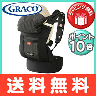 GRACO (Greco) roux pop zero CTS soap D dot (BK) cuddle string / piggyback string / baby carrier