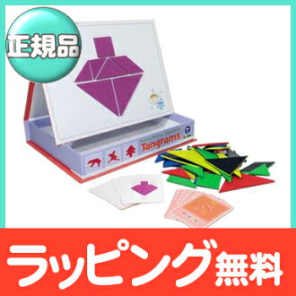 InaKids (Ina kids) magnet set tangram cognitive education toy / is portable