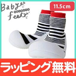 Baby feet(嬰兒英尺)都市紅11.5cm嬰幼鞋嬰兒運動鞋一壘鞋訓練鞋
