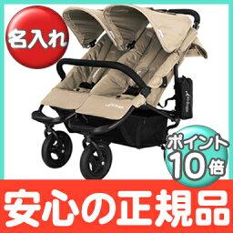 eabagi正規的商店eabagikokodaburu AirBuggy COCO Double(eabagikoko)駱駝2個乘坐嬰兒車