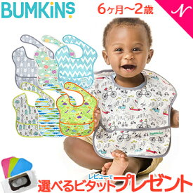 レビューでプレゼント メール便送料無料 バンキンス (Bumkins) スーパービブ 6ヶ月〜2歳 ブルー系その他【ナチュラルリビング】