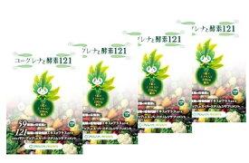 ミドリムシのちから PRESENTS ユーグレナと酵素121 100粒入【3個プラス1個プレゼント】