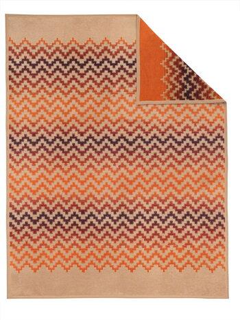 ドイツ・IBENAブランケットシリーズSolareArt.2057綿混毛布シングルサイズ:商品重量1,420g【RCP】
