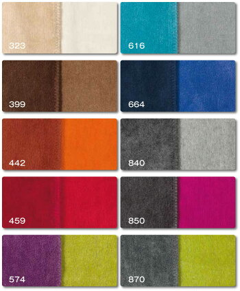ドイツ・IBENAブランケットシリーズSORRENTODOUBLEFACEArt.234010color綿混毛布シングルサイズ:商品重量1,200g【RCP】