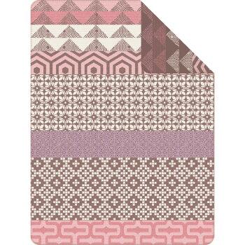 ・数量限定・直輸入・軽量毛布ドイツ・IBENAブランケット綿アクリル混毛布:Art.1606綿58%アクリル35%エステル7%シングルサイズ:商品重量1,300g【RCP】