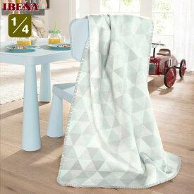 ドイツ・IBENAブランケットベビー綿毛布: Art.2190綿100%クォーター:75×100cm数量限定・直輸入・軽量毛布