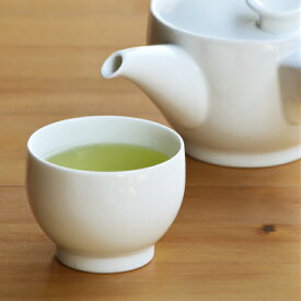 【白山陶器】【波佐見焼】【茶和】【煎茶】【白磁】ナチュラル69 結婚式の引き出物やギフトに! 食器 おしゃれ 内祝い 茶和 煎茶 白磁 北欧 食器 湯呑み