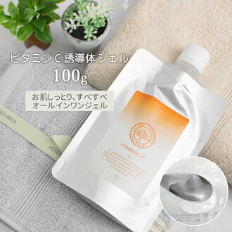Vitamin C derivative gel ( natto extract and hyaluronic acid formulations )  100 g «refill»