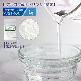 ヒアルロン酸ナトリウム粉末 1g [ 美容液 スキンケア 保湿 ヒアルロン ヒアルロン酸ナトリウム ヒアルロン酸Na 化粧品 乾燥 ローション 化粧水 ]ポスト投函可
