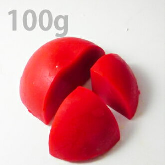 Glycerin Clear Soap, Red 100g (DIY Soap Ingredient)