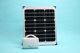 ソーラー発電セット / ナノ発電所タイニーライト + 40W ソーラーパネル薄型[正規品/日本語の説明書付き/無料保証2年(電池を除く)]