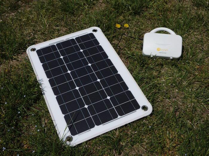 ソーラー発電セット / ナノ発電所そらべあ + 40W ソーラーパネル サンパッド[正規ルート品][日本語取扱説明書]